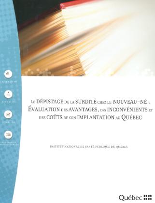LE DÉPISTAGE DE LA SURDITÉ CHEZ LE  NOUVEAU-NÉ  Annota11