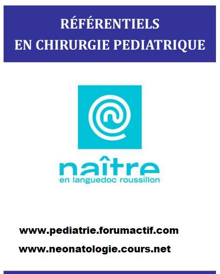 Référentiel en Chirurgie pédiatrique - Périnatalité Annota14