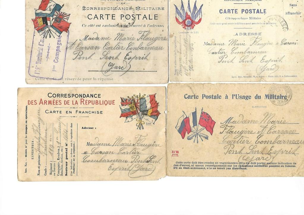 photos et cartes postales 1909/1918 A10