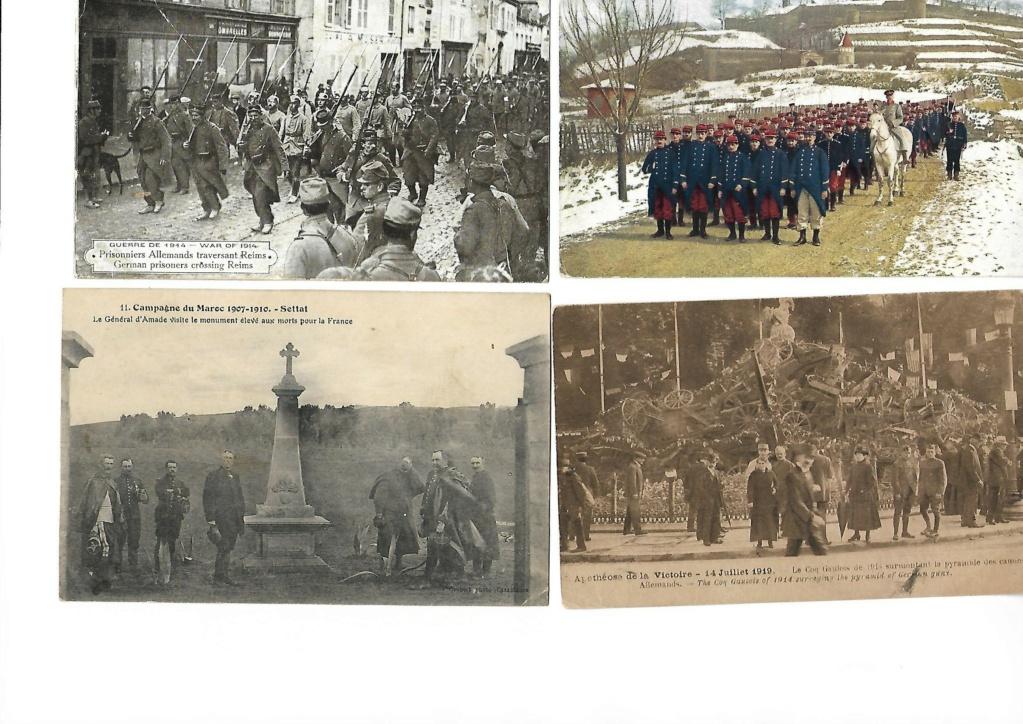 photos et cartes postales 1909/1918 D10