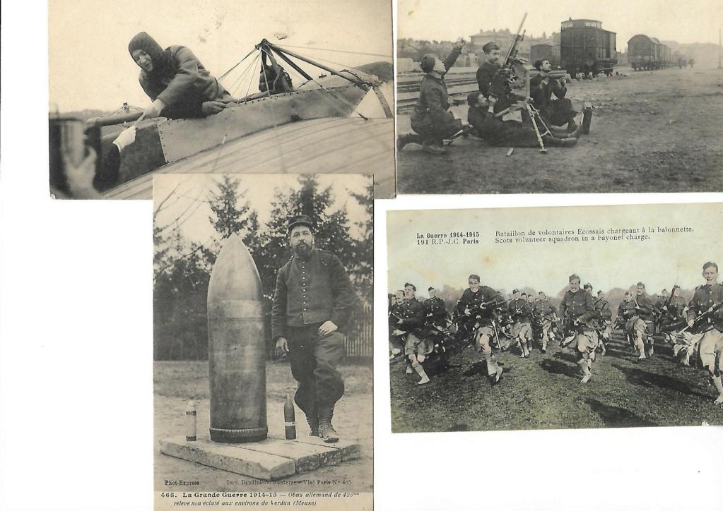 photos et cartes postales 1909/1918 F10