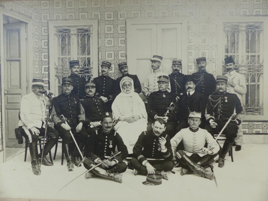 Manoeuvre de cadre de 1910 Tunisie (chez le Caïd de Azghouan) P1110157