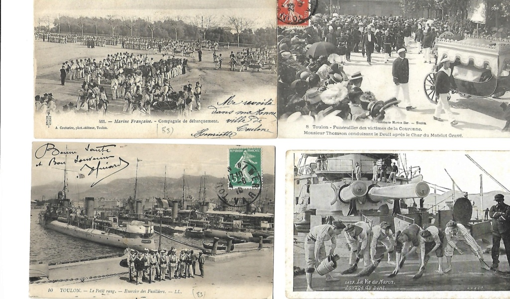 Photos et cartes postales marine 1910/1955 Ph13m10