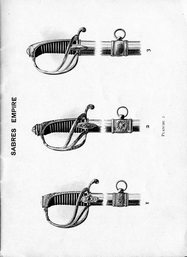 Sabre d'officier de cavalerie type an IX Planch10