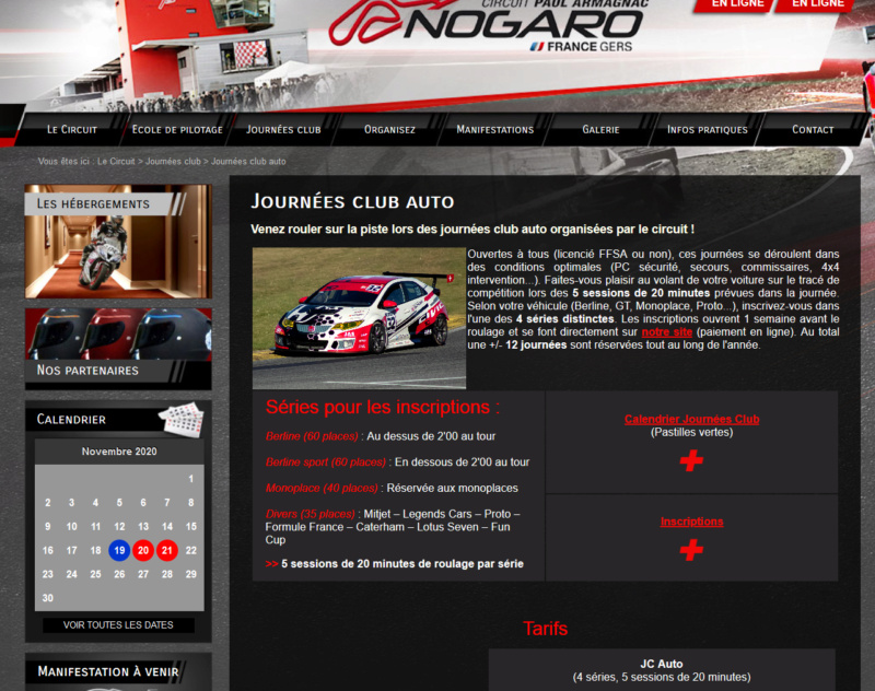 Sortie piste Nogaro  le lundi 2 Novembre  - Page 2 Screen12