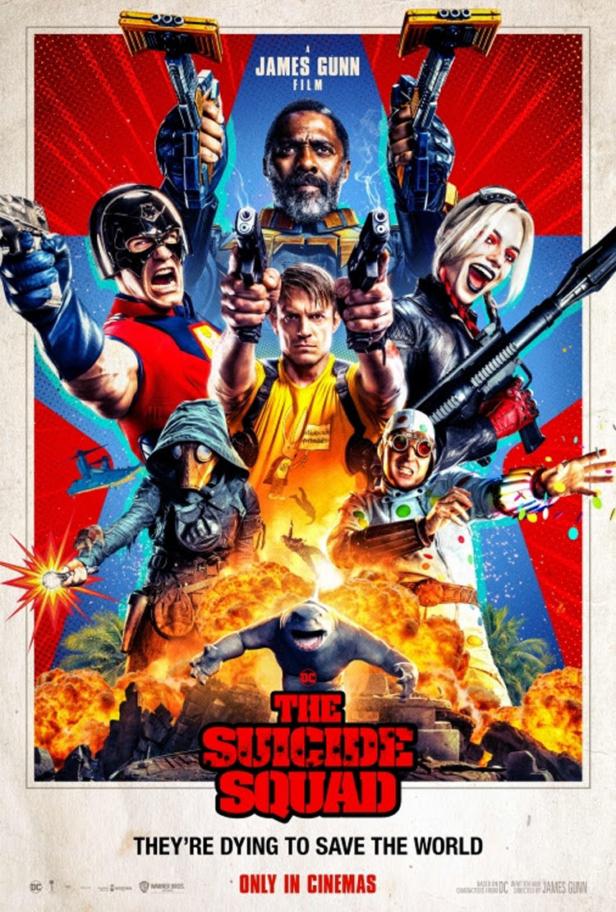 The suicide squad 2021 : DC comics ou DC comique ? Sq110