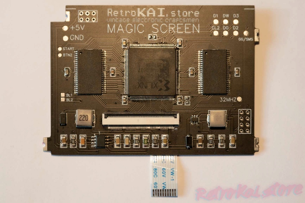 RetroKAI - Magic Screen pour Game Gear _xav1410