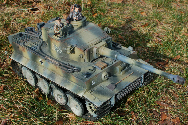 New 1/16 Torro tank crew figures for my Tiger 1 2pvlcl10