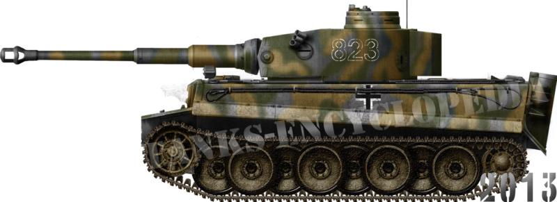 My HL Tiger 1 of 8 Kompanie, Pz Div Das Reich Tiger-10