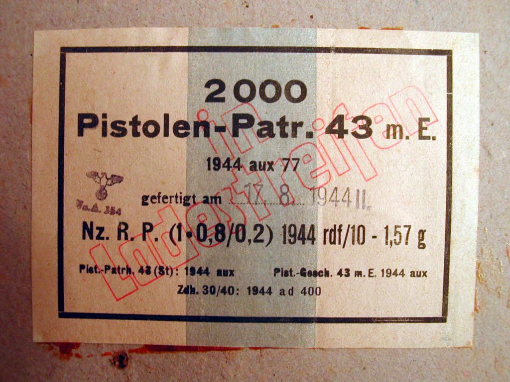 7,92 x 33 Kurz Patrone - Pistolen Patrone 43 m.E - Page 2 1944_a14