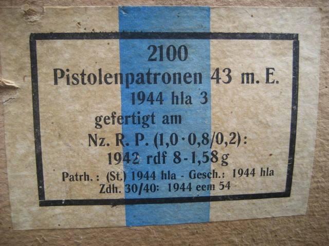 7,92 x 33 Kurz Patrone - Pistolen Patrone 43 m.E - Page 2 1944_h16