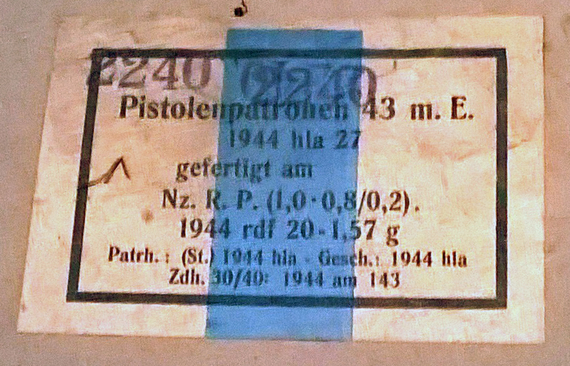 7,92 x 33 Kurz Patrone - Pistolen Patrone 43 m.E - Page 2 1944_h17