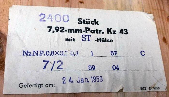 7,92 x 33 Kurz Patrone - Pistolen Patrone 43 m.E - Page 2 24_110