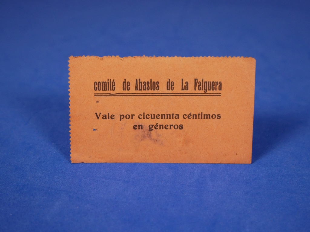 5 Pesetas Comité de abastos de La Felguera 1936 10004310