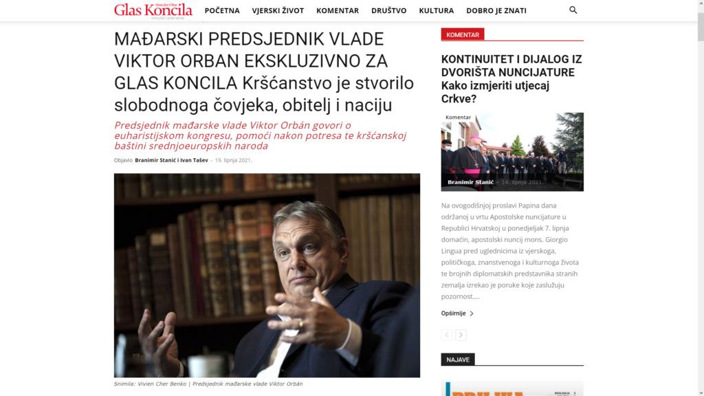 Orban za Glas koncila : Velike muslimanske mase se dovode u Europu. Zrinski bi znao što treba napraviti  Image_10