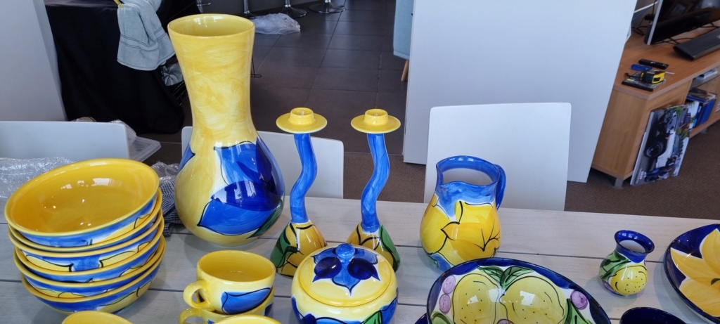 HUGE Petra ceramics collection needing a forever home 20210610