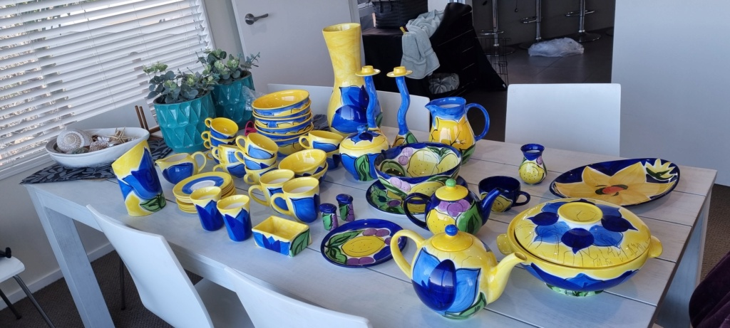 HUGE Petra ceramics collection needing a forever home 20210611