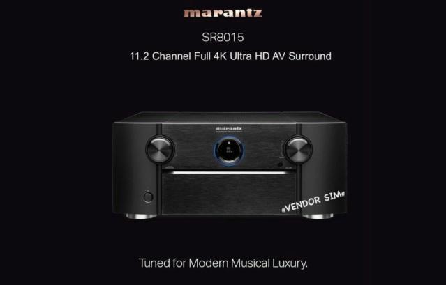 Marantz SR8015 11.2 Channel 8K AV Receiver 114
