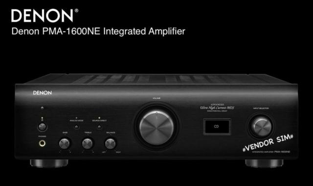Denon PMA-1600NE Integrated Amplifier 118
