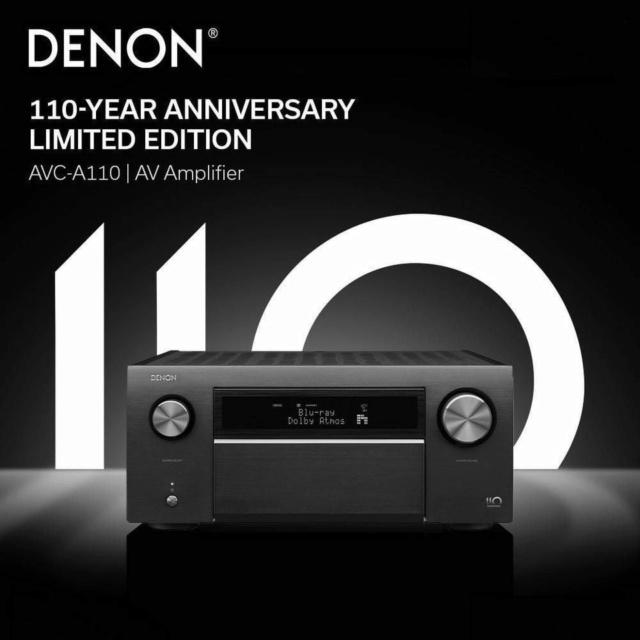 Denon AVC-A110 110th Anniversary Edition Flagship AV Amplifier 19121410