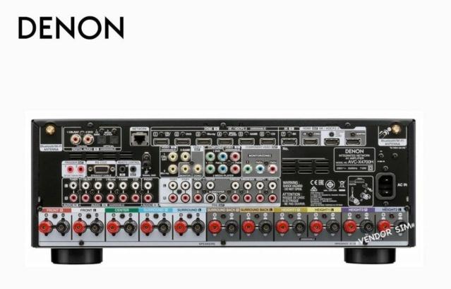 Denon AVR-X4700H 9.2 Ch. 8K AV Receiver 20157310