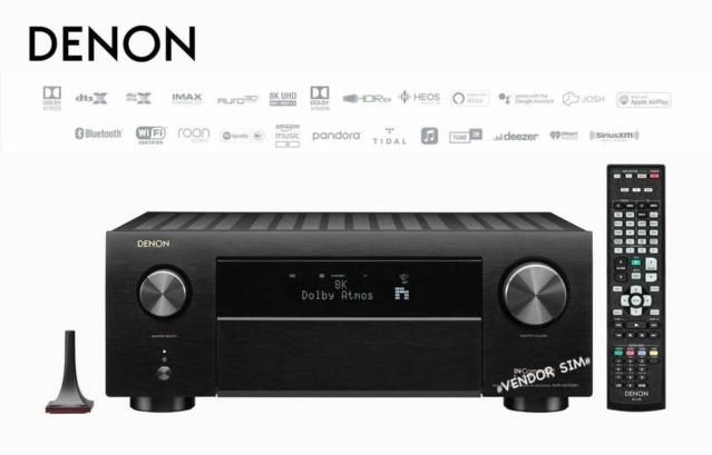Denon AVR-X4700H 9.2 Ch. 8K AV Receiver 20174510