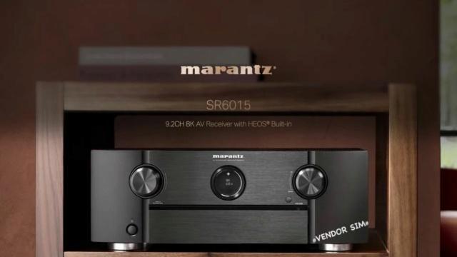 Marantz SR6015 9.2 Channel 8K AV Receiver 20238310