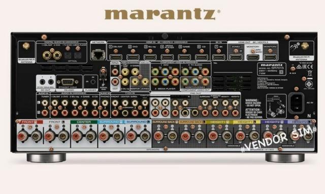 Marantz SR7015 9.2-Channel 4K Ultra HD AV Receiver 20255610