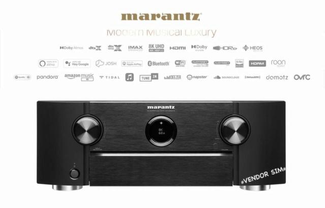 Marantz SR6015 9.2 Channel 8K AV Receiver 20281810