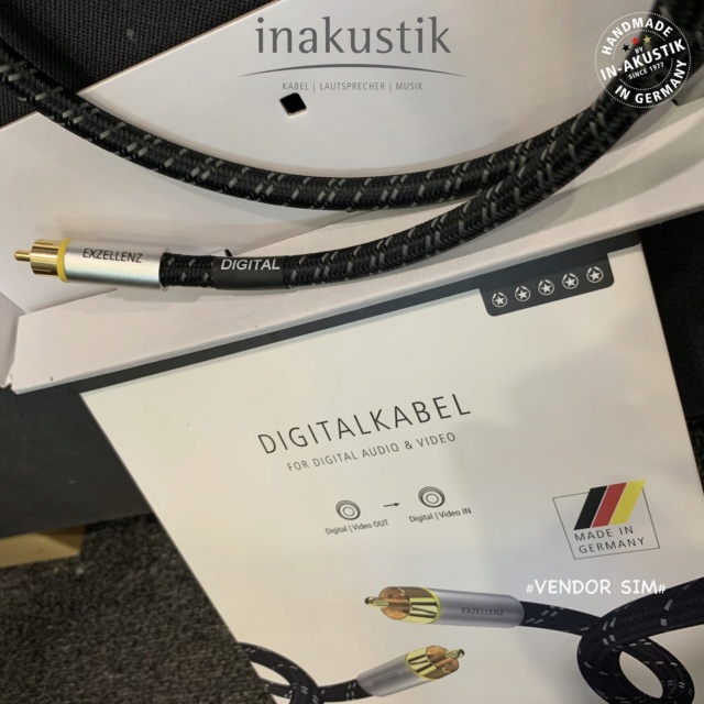 Inakustik Excellence Coaxial Digital Cable (Made in Germany) 20353210