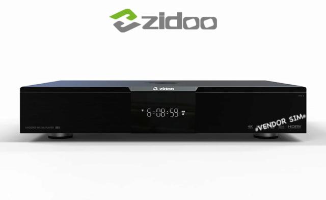 Zidoo UHD2000 Flagship 4K UHD HIFI Media Player 20385410