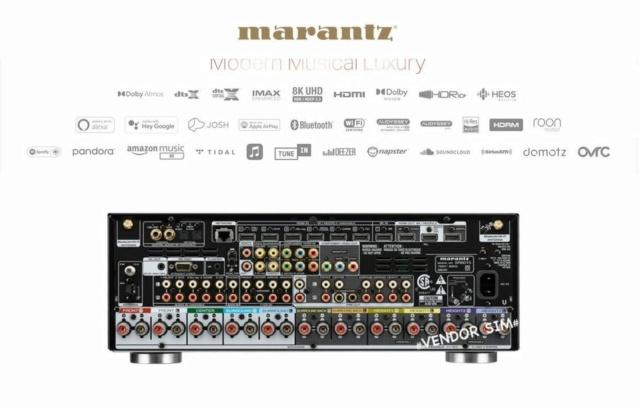 Marantz SR6015 9.2 Channel 8K AV Receiver 20392610