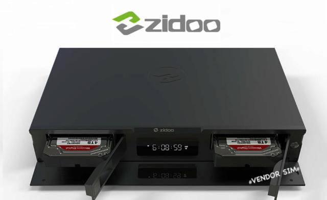 Zidoo UHD2000 Flagship 4K UHD HIFI Media Player 20413910