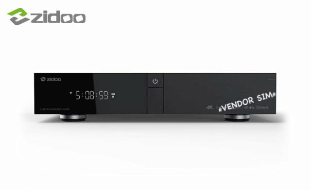 Zidoo Z1000 PRO 4K UHD Media Player  20421310