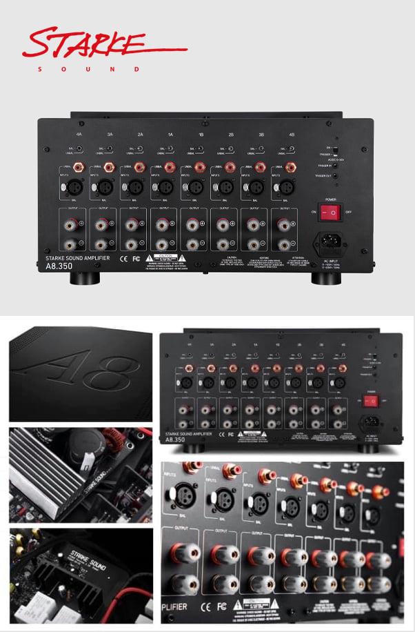 Starke Sound A8.350 8-Channel Power Amplifier 20437110