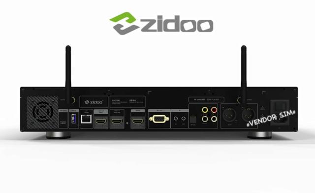 Zidoo UHD2000 Flagship 4K UHD HIFI Media Player 20604910