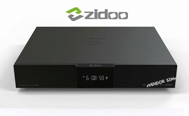 Zidoo UHD2000 Flagship 4K UHD HIFI Media Player 20621810