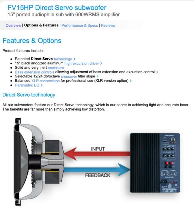"Rythmik FV15HP 15"" Ported Audiophile with 600WRMS Subwoofer 20756310"