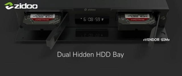 Zidoo UHD3000 Ultimate HiFi Flagship UHD Media Player 221