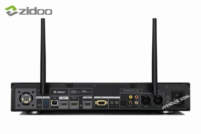 Zidoo X20 Pro 4K UHD HIFI Media Player 417