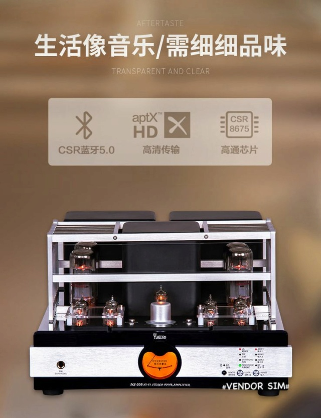 Yaqin MS-20B Hi-End Vacuum Tube Amplifier 514