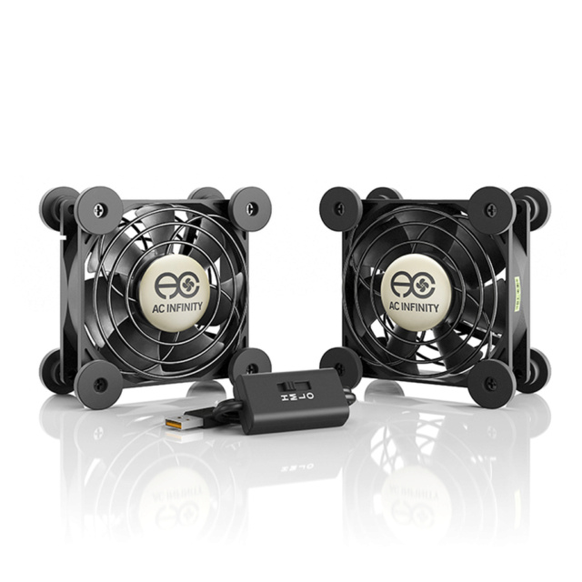 AC INFINITY MULTIFAN Series Quiet USB Coling Fan System Storep22