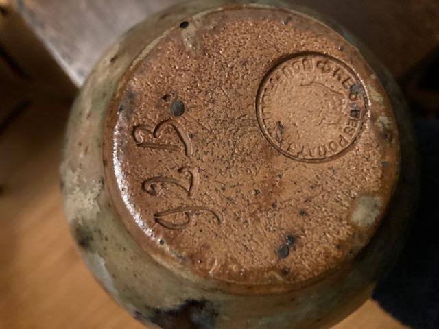 Jar from Bouffioulx, Roger Guerin, Belgium  Bottom10