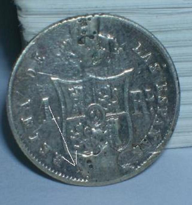 1 real de isabel II 1857 Xxx13