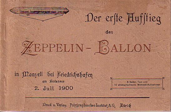 Premier vol du Zeppelin LZ1 Zeppel10