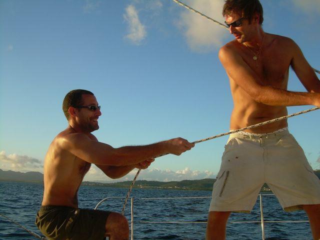 Week-end avec 2 Catamarans !!! Novembre 2007 !!! Week-e26