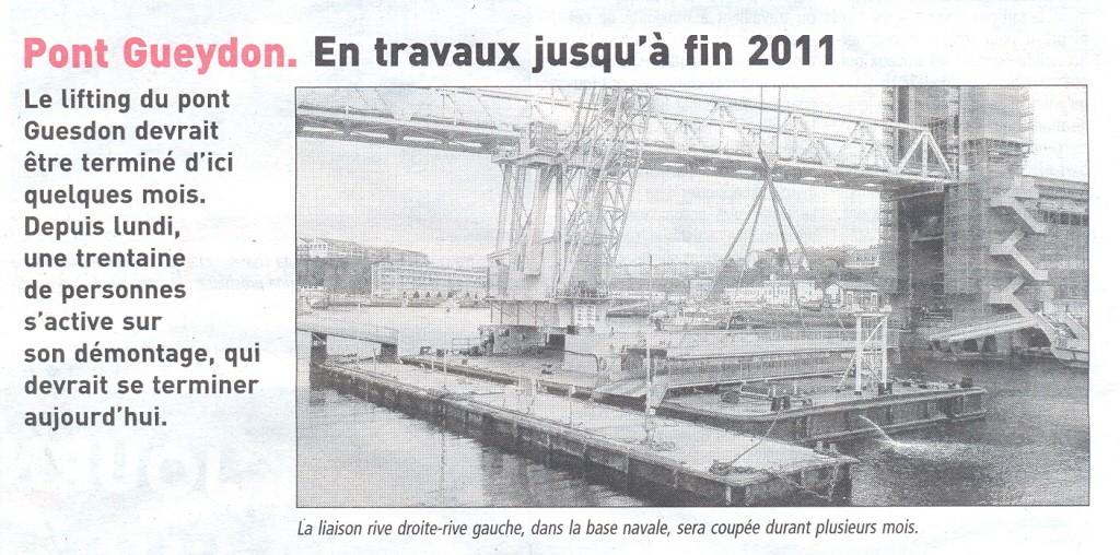 [Les ports militaires de métropole] Port de Brest - TOME 1 - Page 21 Gueydo10