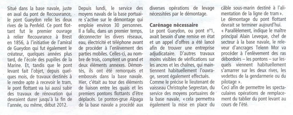[Les ports militaires de métropole] Port de Brest - TOME 1 - Page 21 Gueydo11