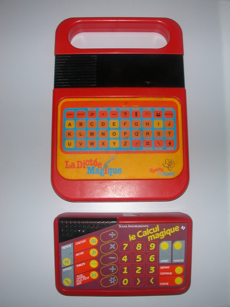 La dictée magique - Speak & Spell - Texas Instrument Dscn6410
