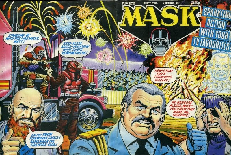 MASK Magazine n° 29 - 31 octobre 1987 Mask2910